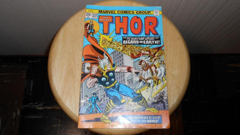 THE MIGHTY THOR # 233 (MAR 1974)