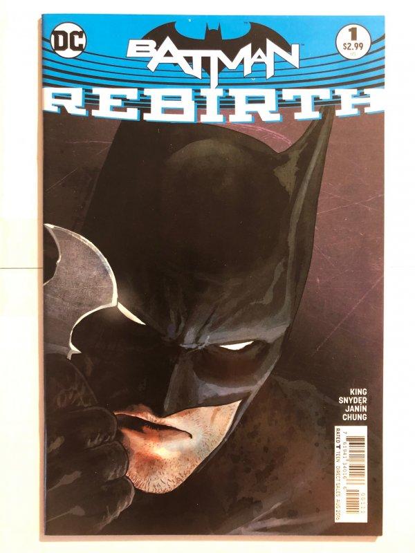 Batman Rebirth #1 (2016) - Rebirth
