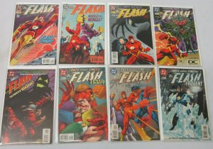 Flash comic lot from:#101-239 2nd Series 30 different books 8.0 VF (1995-2008)