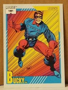1991 Marvel Universe #140 Bucky