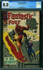 Fantastic Four #69 (Marvel, 1967) CGC 8.0