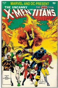 X MEN & TEEN TITANS  (1982) 1 VF-NM COMICS BOOK