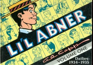 LI'L ABNER-THE DAILIES 1934-1935-HARDCVR-AL CAPP-VOL 1 VG