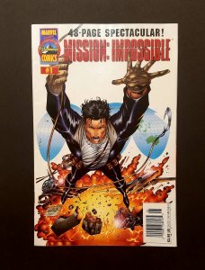 MISSION IMPOSSIBLE #1 1996 Unedited VF RARE First Issue Error Recall Newsstand