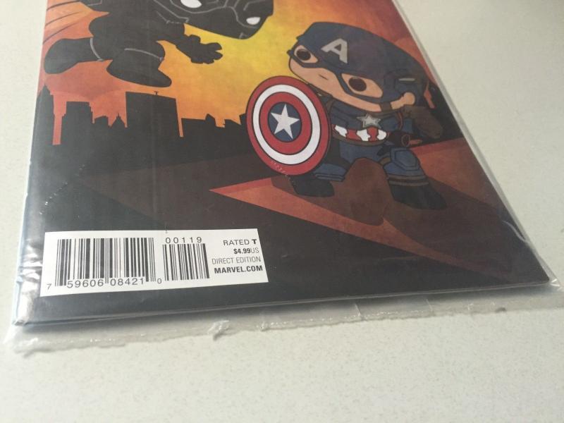 new style 1da38 79561 Black Panther # 1 NM 1st Print Variant Cover Marvel ...