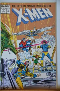 The Official Marvel Index to the X-Men #3 (1987)