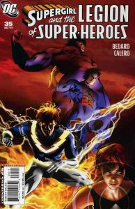 Supergirl and the Legion of Super-Heroes #35 VF/NM; DC   save on shipping - deta