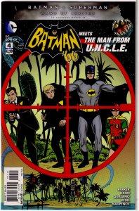 Batman '66 meets The Man From U.N.C.L.E. #4 of 6 FN Parker/Hahn
