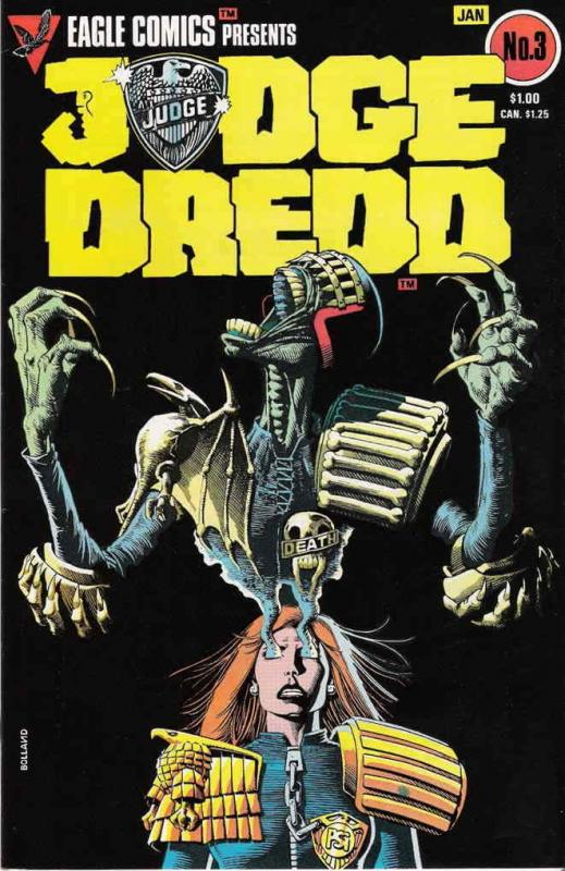 Judge Dredd (Vol. 1) #3 FN; Eagle | save on shipping - details inside