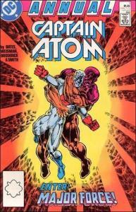 DC CAPTAIN ATOM (1987 Series) Annual #1 VF