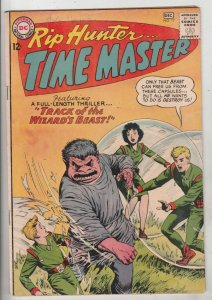 Rip Hunter Time Master #17 (Dec-63) VG Affordable-Grade Rip Hunter, Jeff, Bon...
