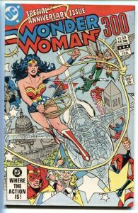 Wonder Woman #300-1983-comic book First appearance LYTA TREVOR