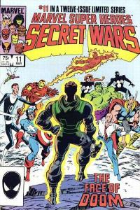 Marvel Super-Heroes Secret Wars #11, NM- (Stock photo)