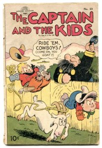 Captain and the Kids #23 1951- Golden Age comic G-
