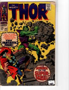Mighty Thor (1966) 142 Good (2.0) Super Skrull