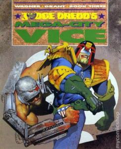 Judge Dredd's Mega-City Vice #3, NM- (Stock photo)