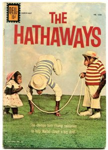 The Hathaways- Four Color Comics #1298 1962- Chimpanzee cover VG