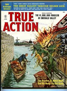 True Actiion 4/1960-Atlas-Gil Cohen-EMSH-Nappi-cheesecake-terror-war-VF/NM