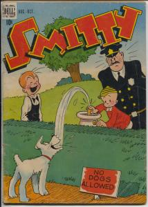 Smitty #3 1948-Dell-art by Berndt-newspaper comic strip-G