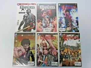 Killapalooza set #1 to #6 8.0 VF 6 different books (2009)