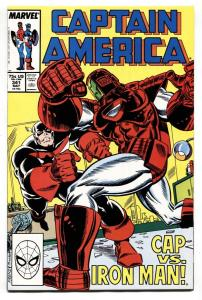 Captain America #341 comic book 1988-1st Rock Python NM-