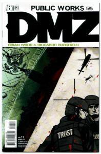 DMZ #17 (DC, 2007) NM