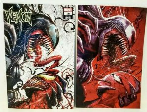 VENOM #18 TYLER KIRKHAM COMIC SPOT NYCC EXCLUSIVE COVER A AND B NM