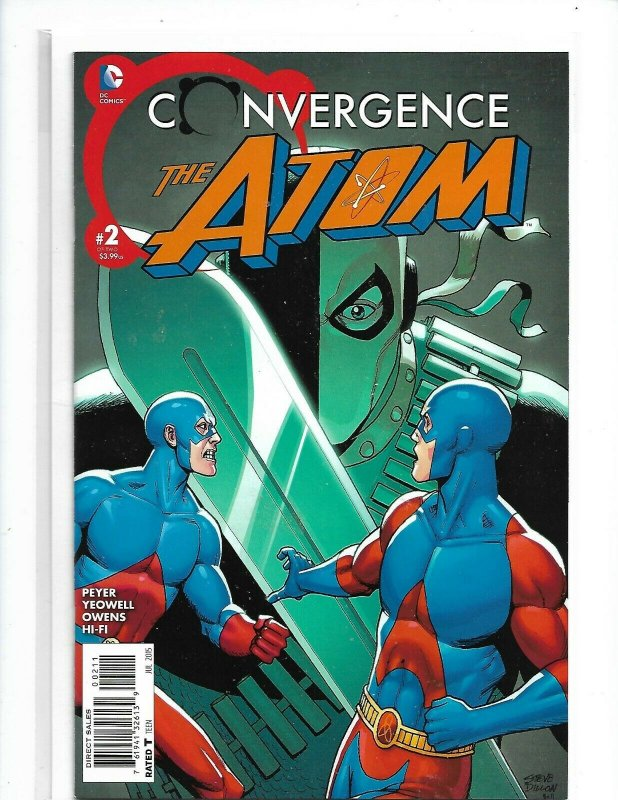 CONVERGENCE: THE ATOM (2015 Series) #2 Near Mint Comics Book nw118