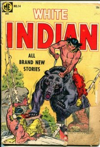 White Indian #14 1954-ME-Indian stories-P/FR