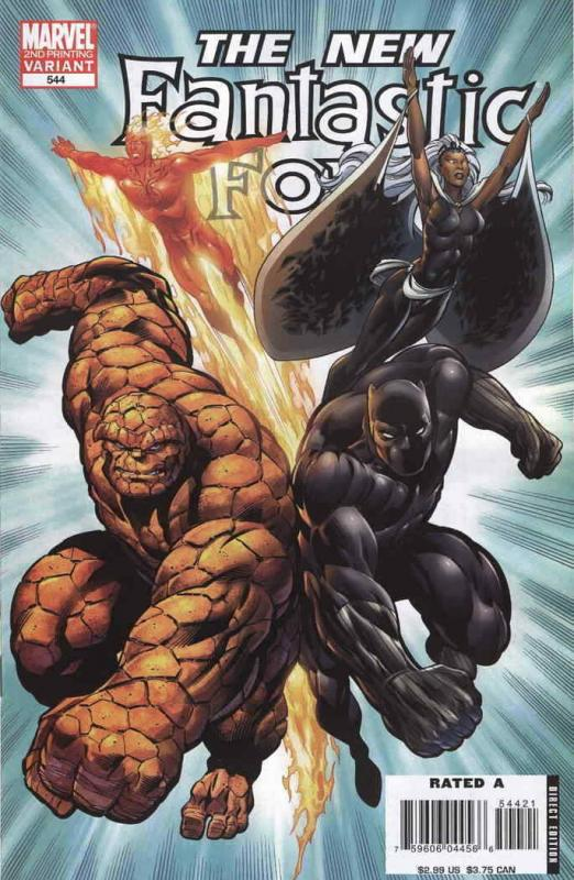 Fantastic Four (Vol. 1) #544 (2nd) FN; Marvel | save on shipping - details insid