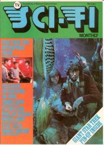 TV SCI FI MONTHLY 5 VF-NM DR WHO CVR; INTERVIEWS: TOM B