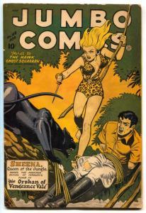 Jumbo Comics #108 1948- SHEENA cover- Matt Baker VG