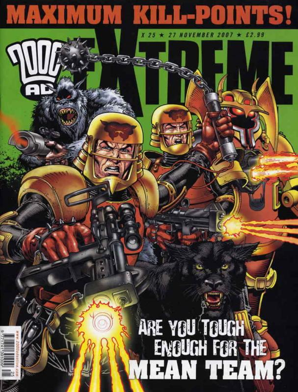 2000 A.D. Extreme Edition #25 VF/NM; Rebellion | save on shipping - details insi