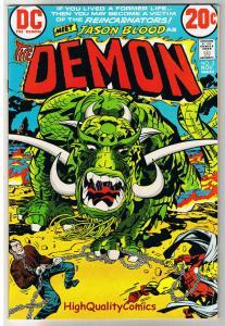 DEMON #3, FN+, Jack Kirby, 4th World, Reincarnators, 1972, more JK in store