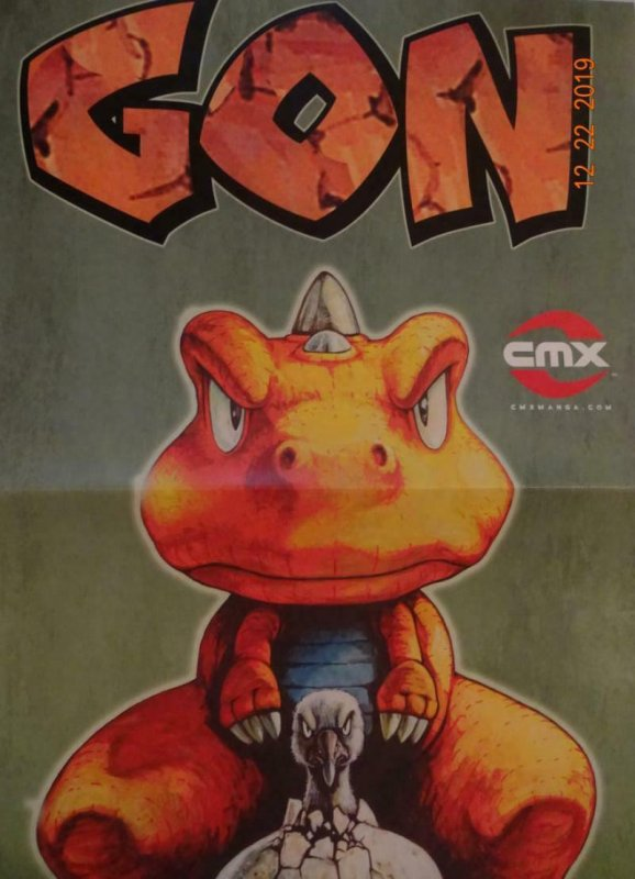GON Promo Poster, 11 x 33.5, 2007 DC Masashi Tanaka Unused more in our store 394