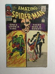 Amazing Spider-Man 37 Vg- Very Good- 3.5 Marvel Comics