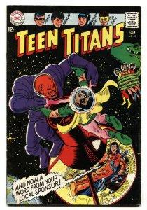 TEEN TITANS #12-1968-DC-Kid Flash-Wonder Girl-Robin-comic book