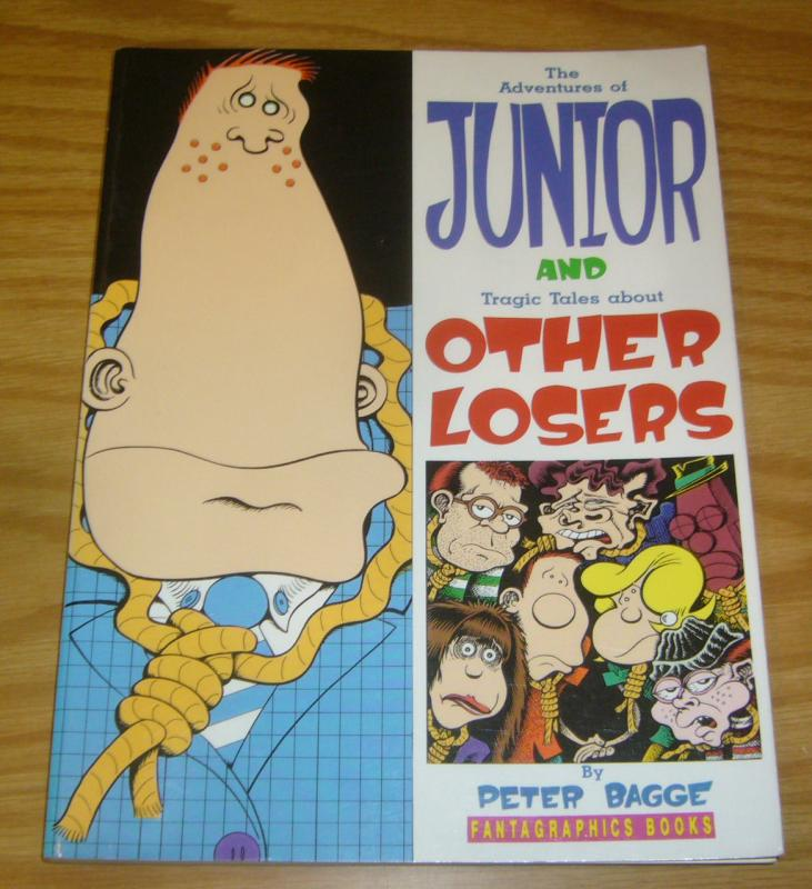 Adventures of Junior and Tragic Tales About Other Losers TPB VF peter bagge 1st