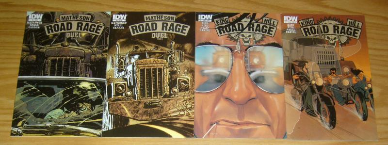 Road Rage #1-4 VF/NM complete series - stephen king - joe hill - B variants set