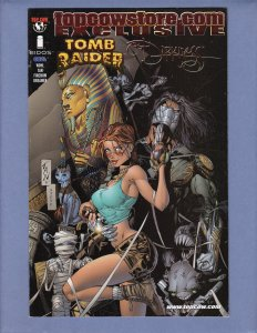 Tomb Raider Darkness #1 VF Top Cow Store Exclusive Variant Cover 2001