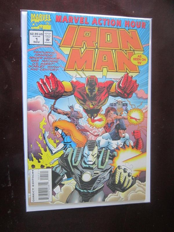 Marvel Action Hour Featuring Iron Man (1994) #1 - 8.0 VF - 1994 - Not Polybagged