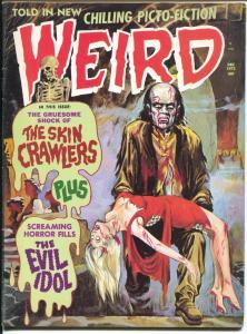 Weird Vol. 6 #7 1972-Eerie-weird menace-electric chair-vampire-FN/VF