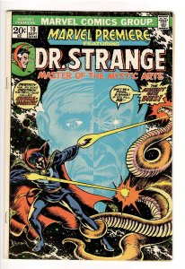 MARVEL PREMIERE #10VG/F 5.0 (1973);1st APP.SHUMA-GORATH!DR.STRANGE 2! MARCH 2022
