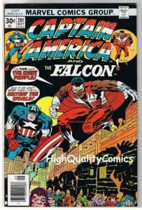 CAPTAIN AMERICA #201, FN+, Jack Kirby, Falcon, 1968, more CA in store
