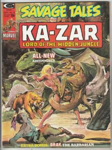 Savage Tales #6 (Sep-74) NM- High-Grade Ka-Zar