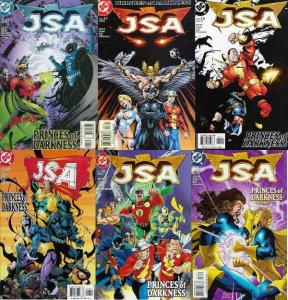 JSA (1999) 46-51  Princes Of Darkness