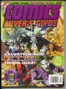Comics Buyer's Guide #1636 2007-Joker & DC characters-comic info & price guide-F