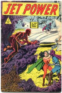 Jet Power #2 1963- Golden Age reprints- Bob Powell VG+
