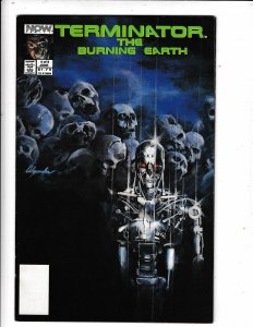 TERMINATOR#4 OF 5 FN/VF  NOW COMICS NO RESERVE  Save on shipping