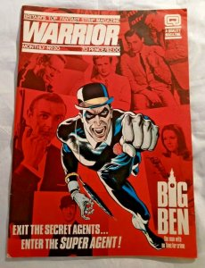 Warrior magazine #15 18 20 Big Ben Demons at the Gate 1982 Lot of 3 FN